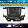 WITSON DVD PLAYER FOR MITSUBISHI LANCER 2007-2012 STEERING WHEEL CONTROL FRONT DVR CAPACTIVE SCREEN