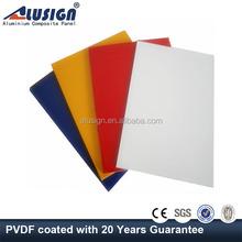 Alusign decoration aluminum composite panel/acp sandwich composite materials walls panels