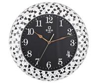 Korean fashion art creative diamond clock JHF13-102F European style living room wall clock special zx