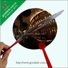 Alibaba china Promotion Hand fan custom printed small plastic fan