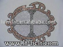 2012 hot fix iron on rhinestone,fashionable motif