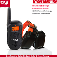 2016 New Pet Products 998DR Upgraded Version Waterproof and Rechargeable Dog Training Collar with Remote