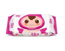 Small plastic baby wipe packaging bags/Printed wet tissue packaging bags