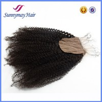 Hot selling brazilian hair silk base closure,Cheap lace closure