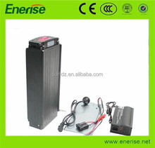750W 48V 20AH 13S7P SAMSUNG 29E cells Li-ion Battery pack with TB106 thick black aluminium case for Electric Bike