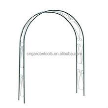 garden wrought iron arches / gazebo arch / gazebo trellis arch