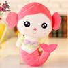 custom plush animal toy beauty fish soft mermaid doll toy