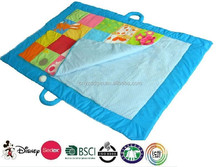 Fuzzy Baby Mat - Blue Puppy/baby play mat/2014 european style EPE high quality padded baby play floor mat