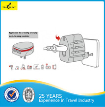 travel power adapter +2 usb output 2100mA