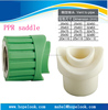 hot sell PPR pipe and fitting PPR plastic pipe saddles
