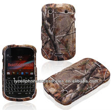 Fancy Mobile Phone Accessory For Blackberry 9900/9930 Crystal Hard Design Rubberized Case Cover