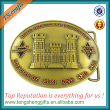 US military design metal belt buckle manufacturers custom belt buckles