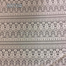 white gracefull evening dresses fabric lace with warp knitting techinc TH-8876