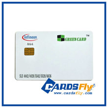 Satellite Contact Smart Card