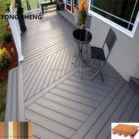 synthetic teak wood plastic composite decking