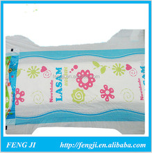 Supply disposable breathable sleepy baby diaper for supermarket