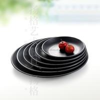 Plastic melamine unbreakable dinnerware reusable melamine plate