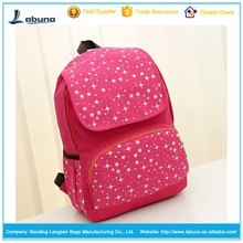 Star Canvas Student School Bags