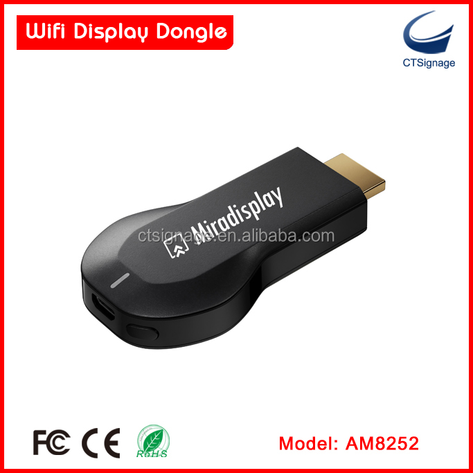 24G WiFi Display DongleMeasy Electronics  Measy