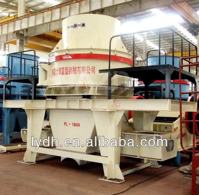machines de construction de la chine fournisseur pl axe vertical broyeur à percussion