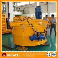 Fully automatic pan type hydraulic planetary concrete mixer