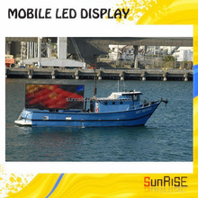 Mobile Truck/trailer/car Moving Advertising High Definition Led Truck Display Screen P10,Low Consumption P10 Led Truck Screen