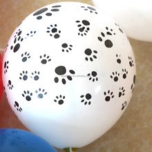 low price printed baloon latex,flower printed baloon,assort printed balloon for sale