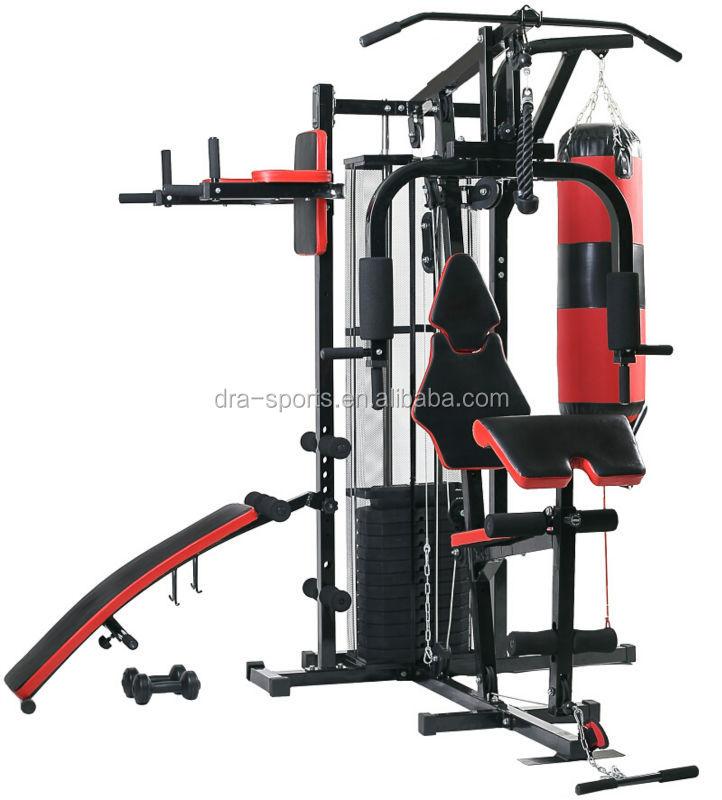 New multi gym home station avec h haltère kg poids