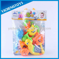 8pcs baby toys cheap small plastic musical toy
