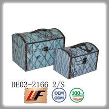 New Style Art Trunks Various Colors Mdf Boxes Craft