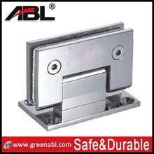 316 stainless steel glass door floor hinges clamp
