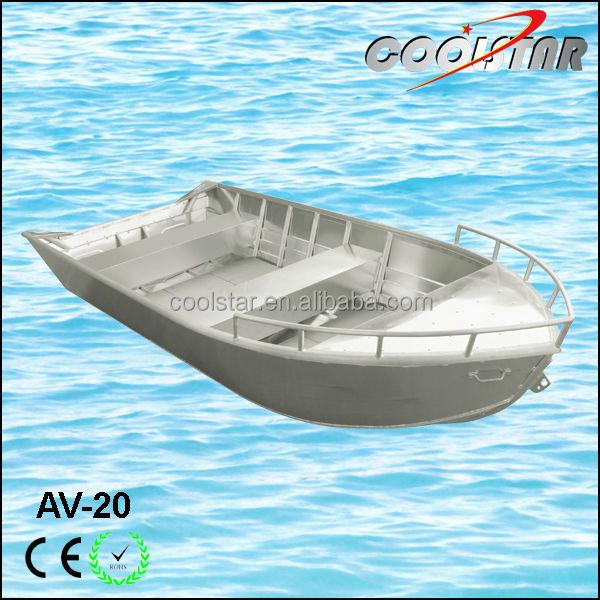 Av type all welded aluminum boat fishing boat buy av for Fishing boat types