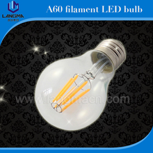 Langma 2W 4W 6W 8W A60 E27 Led filament bulb clear grass edison light bulbs indoor led lighting 110/240V filament lamp
