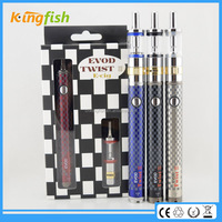 2015 best christmas gift evod twist 3 e-cigarette paypal accepted starter kit