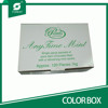 FOOD GRADE DIE CUT COLOR PAPER BOXES CHOCOLATES PACKAGING CARTONS WITH CUSTOM PRINTED