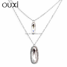 2015 OUXI modern fashion accessories factories Made With Swarovski elementsY10030