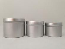 aluminum candle tin jar