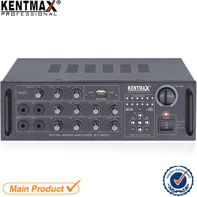 Fabrika Düşük Maliyetli 15 Watt 2 Kanal AC DC Ses Güç Amplifikatörü