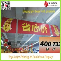 Supermarket Promotion Price KT Board Printing double side printing