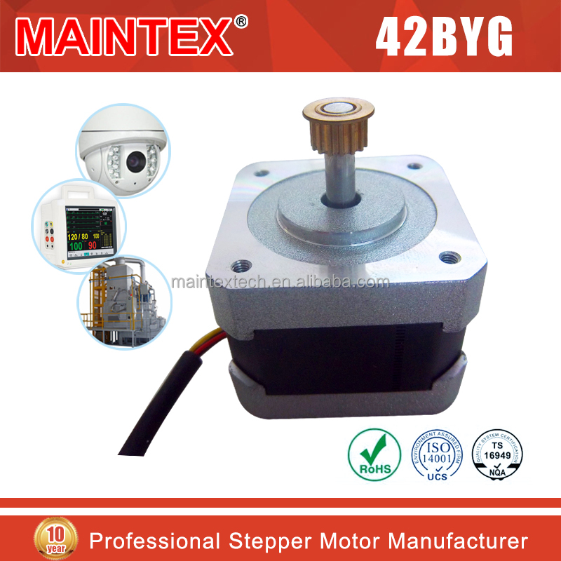 1 8 degree nema17 42bygh hybrid stepper motor factory