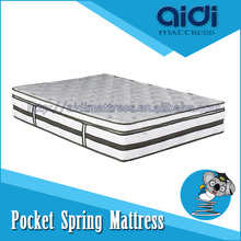 Labels For Box Top Pocket Spring Mattress with Breathable Carbon Fabric AG-1306