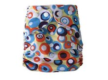 Baby pocket diapers with snaps