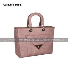 Miss fashion hobo handbags / lady custom make logo leather bags / OEM design hot seller hand bags T1303