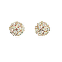 payment asia alibaba china Fashion Crystal Pave Clay Beads Shamballa Earring