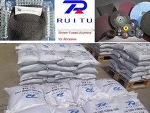 Crushed by Barmac Brown Fused Alumina for ceramic grinding wheels
