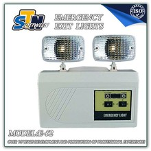 8W exit sign emergency lighting UL LED exit emergency lamp