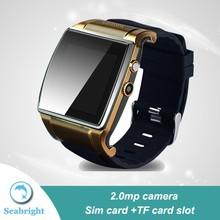 latest bluetooth wrist watch mobile phone with sim card slot
