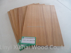 Natural veneer plywood with E1 glue from Linyi China manufacturer
