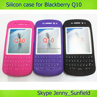 Mobile phone accesssories phone case Keypad silicon case cover for blackberry Q10, for blackberry Q10 case