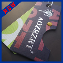 2015 New Style High Quality Custom Clothing Hang Tag